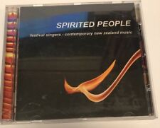 CD Music Spirited People Festival Singers Contemporary New Zealand Music