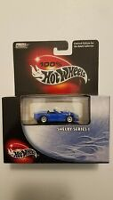 Hot Wheels 100% Black Box Blue Shelby Series 1 with Real Riders