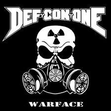 Def-Con-One - Warface CD 2012 aggressive thrash Scarlet Records