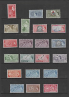 BERMUDA 1953-62 QEII  SET  OF 21 (SG 135-150)  MINT