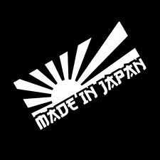 Rising Sun Made In Japan JDM Car Sticker Decal Motorcycle Stickers Car vinyl