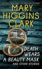 DEATH WEARS A BEAUTY MASK BY MARY HIGGINS CLARK (2016) NEW MASS MARKET PAPERBACK