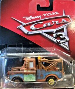 Mattel Disney Pixar Cars 3 Mater Die Cast 1:55 New