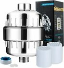 15 Stage Shower Filter Water Softener for Hard Water Chlorine Purifier Universal