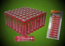 50 x AA Batterien Neu im Blister R6 Batterie bis 06/2019 Haltbar