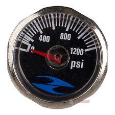 """32 Degrees Paintball Gun Gauge 0-1200 psi 1"""" - 1/8 NPT Threading - (#3H23)"""