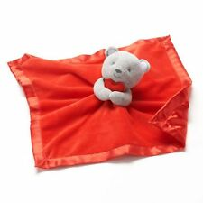 NWT  Carter's Red Valentine's Grey Bear Security Blanket