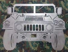 Hummer Humvee HMMWV metal wall art. BIG! 47 x 34.5 in. 14 ga. steel
