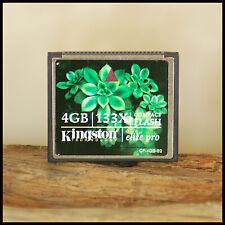 Kingston 4GB 133x speed Elite Pro Compact Flash Memory Card suit Digital SLR