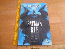 Batman RIP DC TPB Grant Morrison Tony S Daniel VF/NM 2nd print