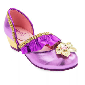 Disney Store Princess Rapunzel Dress-Up Costume Shoes Girl Tangled Kids Size 2/3