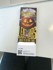 Unused Montreal Canadians tickets Halloween au centre bell oct 26