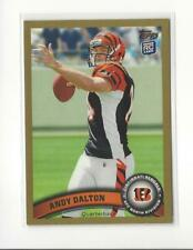 2011 Topps Gold #70 Andy Dalton RC Rookie Bengals /2011