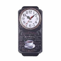 Retro Wall Clock Home Watch Decoration Bar Kitchen Digital Clocks Watches Decors
