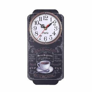 Retro Wall Clock Home Watch Decoration Bar Kitchen Digital Clocks Watches Decors