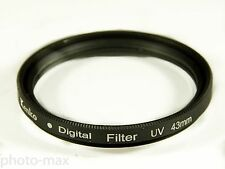 Kenko 43mm UV Digital Filter Lens Protector for 43mm filter thread - UK