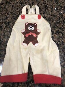 Original Cabbage Patch Kids Teddy Bear Overalls