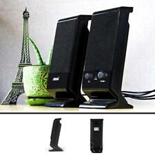 Mini Computer Speakers Heavy Bass Subwoofer USB Portable For Desktop PC Laptop