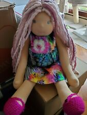 Bamboletta Forever Friend APRIL Waldorf Doll 2017 with Extra Dresses NEW