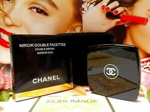 CHANEL Beauty Compact Miroir Double Facettes Mirror Duo Side With BOX