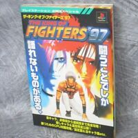 KING OF FIGHTERS 97 Game Guide Japan 1998 Sony PS Book KB88