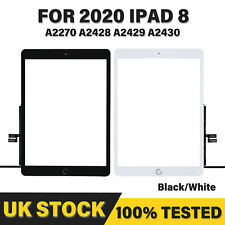 More details for for 2020 ipad 8th gen a2270 a2428 a2429 screen replacement glass touch digitizer