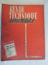 RENAULT Estafette Zone Bleue Alouette - Revue Technique Automobile 175