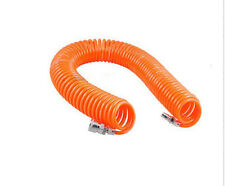 15M 8mmx5mm Air Compressor spring pu pipe recoil hose + quick connector