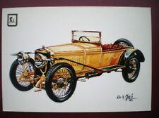 POSTCARD RP CAR HISPANO SUIZA D-15 TIPO ALFONSO XIII 1912