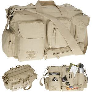 Reisetasche Canvas XL 50 L Sporttasche Weekender Canvastasche Tasche 3525 Sand