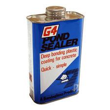 Bondaglass G4 Pond Concrete Sealant 1kg Black Paint on Pond Sealer