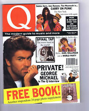 GEORGE MICHAEL / DEBBIE HARRY / SPINAL TAP 	Q Magazine	N0.49	Oct 1990