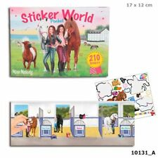 Miss Melody Pocket Stickerworld, mit 210 Sticker, Pferde, Sticker World 10131