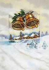 Orchidea Cross Stitch Card Kit - Winter Bells