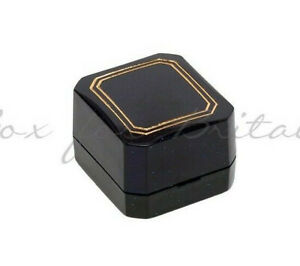 Ring Boxes with hinge, 10 Ring & Stud Boxes,£8.99 Wholesale price