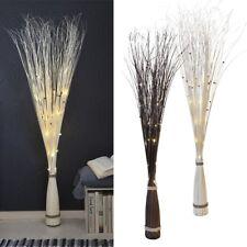 """LED Lichterzweige """"Willow Cone"""" 120cm Weiden-Zweige Netzteil Deko beleuchtet"""