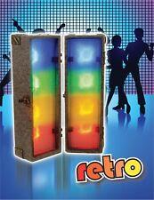 FXLAB 2 X 4 Modo Retro Disco Club DJ Etapa De Luces De Rendimiento Caja de luz LED de eventos