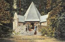Le Conte Memorial Chapel, Yosemite Valley, California ca 1910s Vintage Postcard