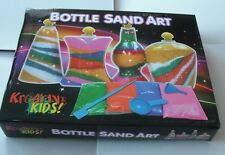 1 x Kids Bottle,Sand Art Set Kids Make Your Own Activity Craft Kit.8 Packs Sand