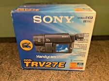 Sony CCD-TRV27E Handycam Camcorder Video 8 PAL 72x Zoom New open box Never Used
