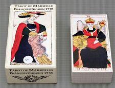 TAROT DE  MARSEILLE FRANCOIS CHOSSON 1736 MARSEILLE CARD DECK