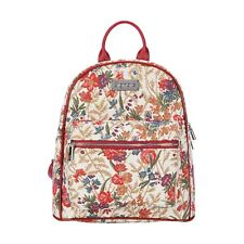 FLOWER MEADOW CASUAL DAYPACK  SIGNARE TAPESTRY CANVAS WOMEN BACKPACK PRESENT