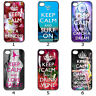 For Designer Phone Hard Case Cover Keep Calm Variety Collection 6b