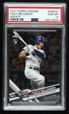 2017 Topps Chrome Update Target Exclusive Cody Bellinger #HMT81 PSA 10 Rookie