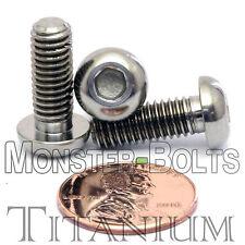 TITANIUM M6 x 16mm - DIN 9427 BUTTON HEAD Socket Cap Screw - BHCS - Ti Hex Allen