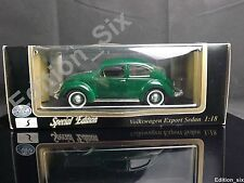 Maisto 1:18 1951 Volkswagen Beetle Classic German Car Model Special Edition