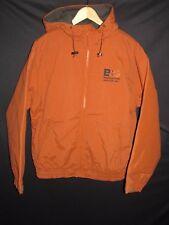 Cabela's Polyurethane Coated Nylon Hooded Windproof Lined Jacket  Men's M NY22