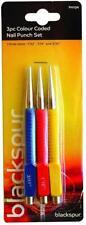 Blackspur BB-PH104 Colour Coded Nail Punch Set