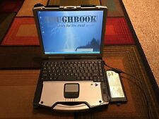 Panasonic Toughbook Touchscreen Laptop CF-29 1.4Ghz Wifi 40GB w/ Extra Battery