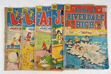 Vintage 5 Archie Series Comics Jughead Archie Laugh Riverdale High #3 Issue
